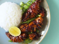Grilled Squids in Sweet Soy Sauce · Southeast Asian Recipes · Nyonya Cooking