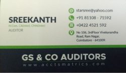 Auditors in Coimbatore