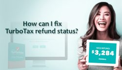 How can I fix TurboTax refund status?