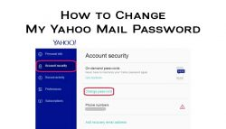 How to Change My Yahoo Mail Password?
