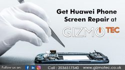 Huawei Phone Screen Repair By Gizmotec