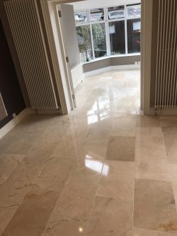 Marble Floor Cleaning & Polishing