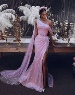 Abiballkleider Lang Glitzer | Günstige Abendkleider Rosa