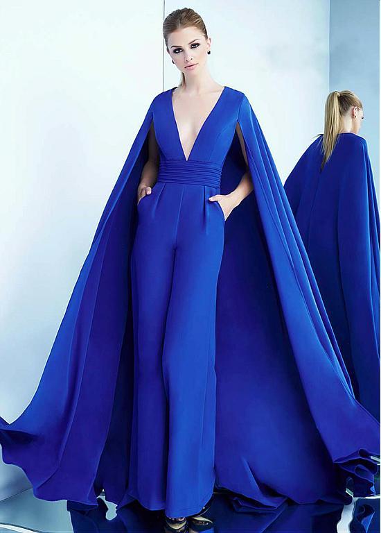 Modern Abendkleider Lang Blau | Formal Abendmoden Online