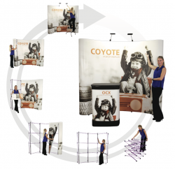10′ Pop up Displays