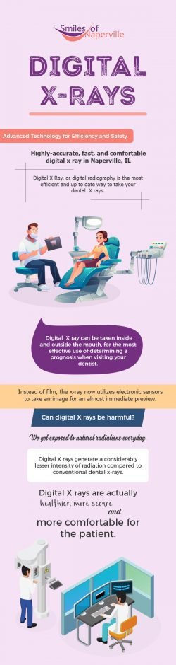 Choose Smiles of Naperville for Digital Dental X-Rays in Naperville, IL