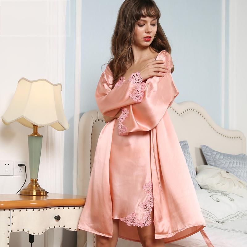 Women's Life Style Real Silk Pajamas Set