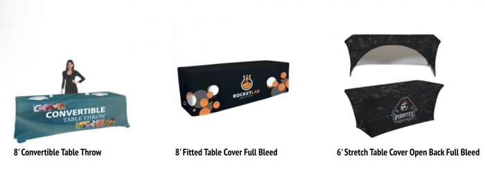 Printed Table Covers