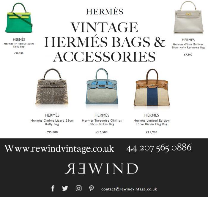 VINTAGE HERMÉS BAGS & ACCESSORIES