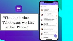 What to do when Yahoo stops working on the iPhone?