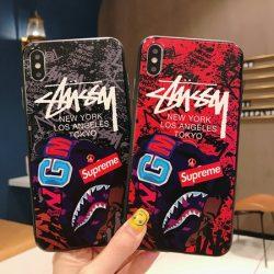 Stussy&Supreme アイフォン11pro max ケース