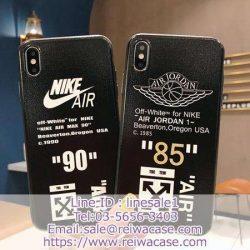 運動風 Nike AJ OffWhite アイフォン11/xs maxケース