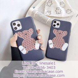 バーバリー iPhone11/11proケース 熊柄