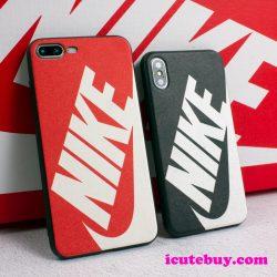 新作 ナイキ iPhoneXSケース iPhone11 Pro Maxケース NIKE iphoneXRケース 赤 黒 iPhone8/8plus/7/7plu ...