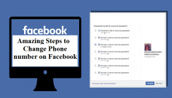 Amazing Steps to Change Phone number on Facebook