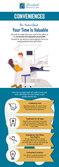 Visit Brookside Dental Care for Same-day Dental Emergency in Allentown, PA