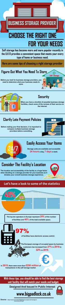 Business Storage Provider – Choose the Right One For Your Needs