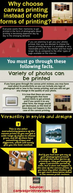 Canvas print reviews given by the people by which you can come to know about which print will be ...