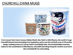 Churchill China Porcelain Mugs for sale
