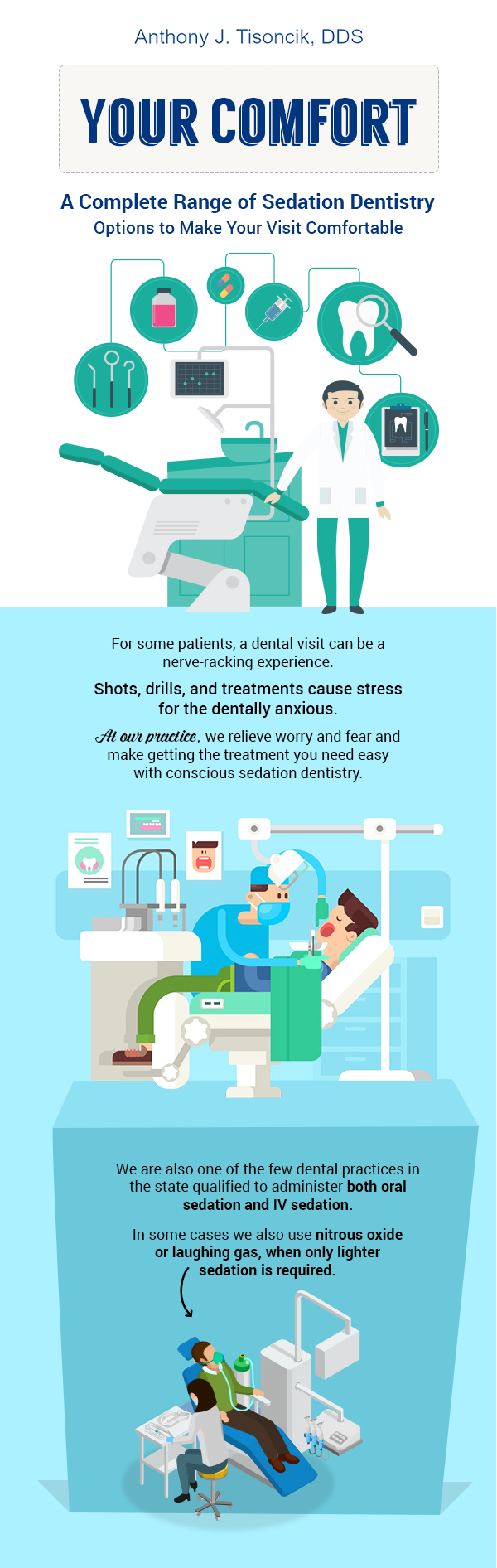 Contact Palos Hills Dental for Conscious Sedation Dentistry in Palos Hills, IL