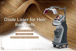 Diode Laser Hair Regrowth Machine