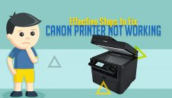 Effective Steps to Fix Canon Printer Not Working