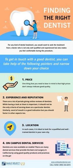 Finding the Right Dentist | Smile Select Dental