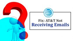 Fix: AT&T not Receiving Emails