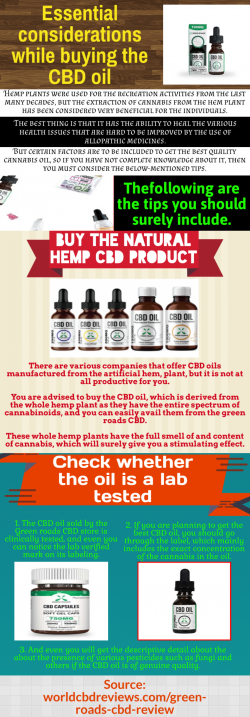 Green Roads CBD-Provide you excellent quality products
