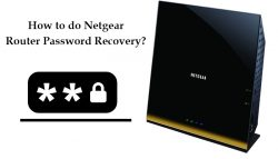 How to do Netgear router password recovery?