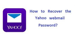 How to recover the Yahoo webmail Password?