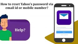 How to reset Yahoo's password via email id or mobile number?
