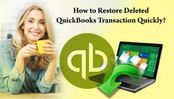 How to Restore Deleted QuickBooks Transaction quickly?