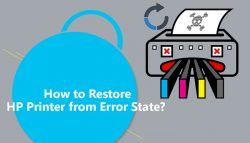 How to Restore HP Printer from Error State?