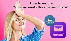 How to Restore Yahoo account after a password loss?
