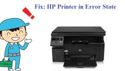 Fix: HP Printer in Error State