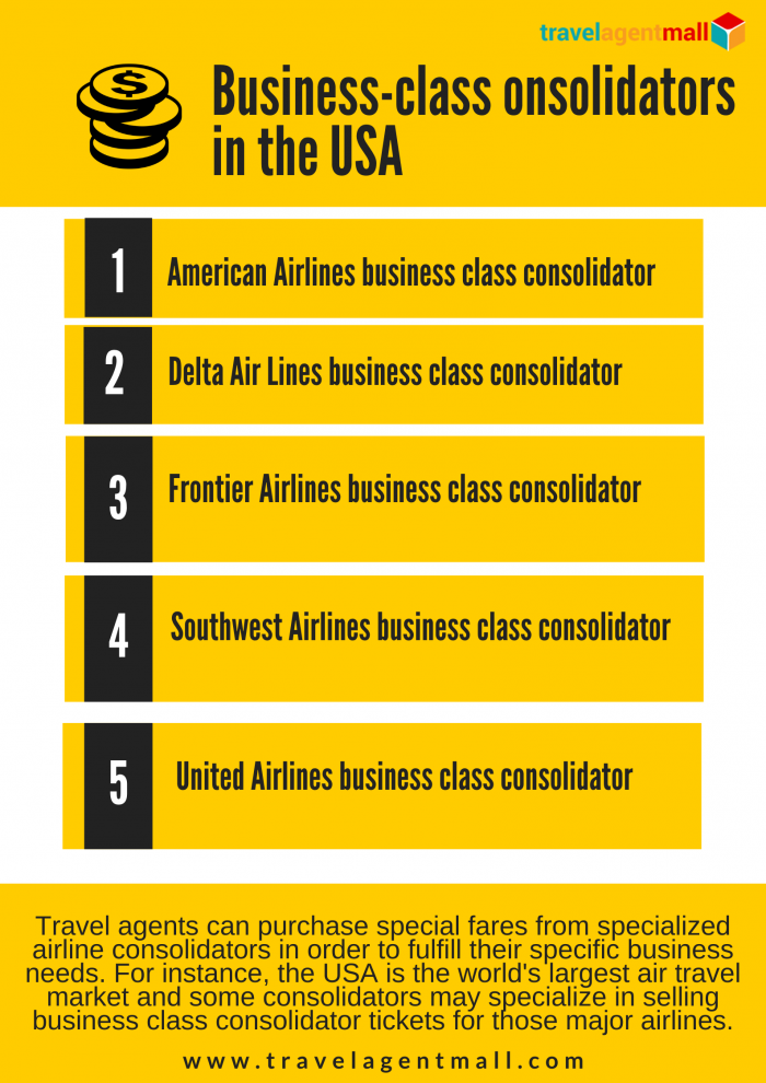 How Can Travel Agents Save High With a Business-Class Consolidator?
