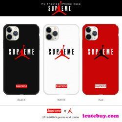 シュプリーム エアジョーダン コラボ iPhone11 Proケース Supreme X AirJordan iPhone11/XS/XR/8ケー ...