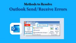 Methods to Resolve Outlook Send/Receive Errors