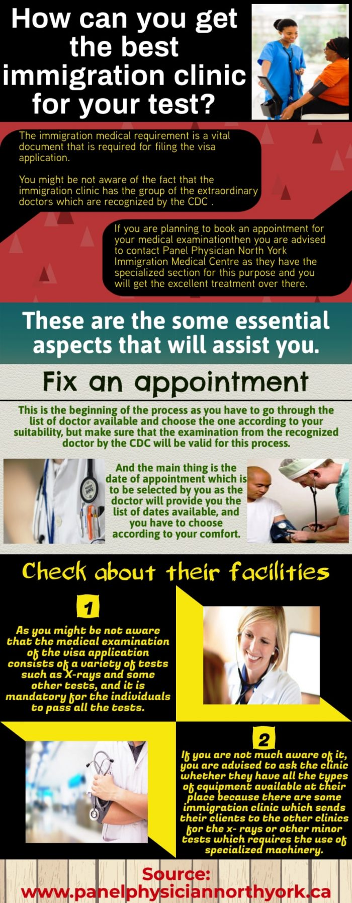 Well experienced staff Immigration Medical Centre