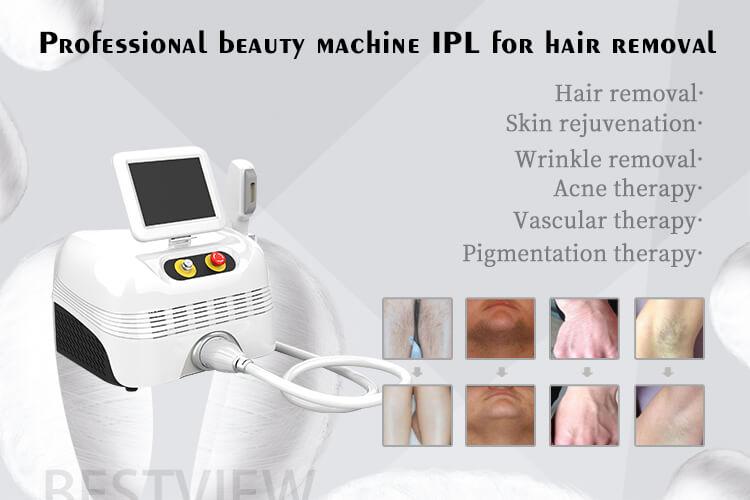 Portable IPL Hair Removal Machine