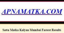 APNAMATKA |SATTA MATKA | MATKA RESULT |SATTA MATKA GUESSING | Matka bazaar