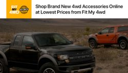 Shop Brand New 4wd Accessories Online at Lowest Prices from Fit My 4wd
