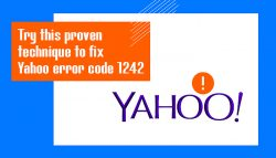 Try this proven technique to fix Yahoo error code 1242