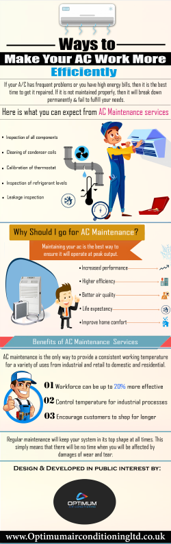 Ways To Make Your AC Work More Efficiently