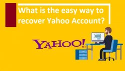 What is the easy way to recover Yahoo Account?