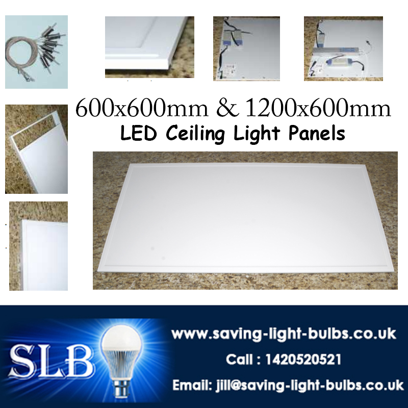 600x600mm & 1200x600mm LED Ceiling Light Panels
