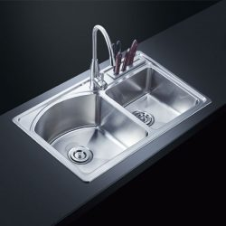 kitchen faucets manufacturers – Stainless Steel Small Radius Sink AF-8248