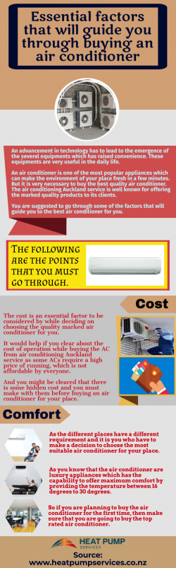 Detailed Information About air conditioning
