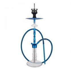 Hookah Water Pipe for Smoking Glass Shisha Blue